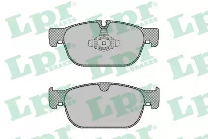 Тормозные колодки LPR 05P2004