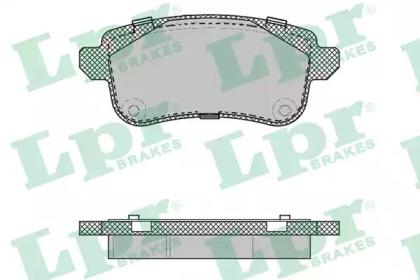 Тормозные колодки LPR 05P2014