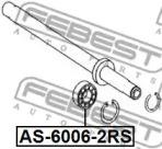Подшипник шариковый (30x55x13) TUCSON 04-10 FEBEST AS60062RS-1
